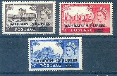 British Bahrain Yv#88/90 Complete Set Mh Sale Overall Discount 50-70% Bahrain (1971-now)