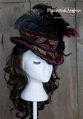 Ladies Hat Sewing Pattern Ripper Street Victorian Steampunk Sherlock Holmes SMOG