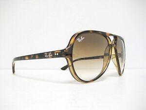 c1f72359d7 new RAY BAN CATS 5000 Sunglasses Havana Brown Gradient 59mm RB4125 ...