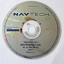01 02 2003 BMW X5 740i 740iL 745i 745Li M3 M5 NAVIGATION ROAD MAP CD SOUTHEAST