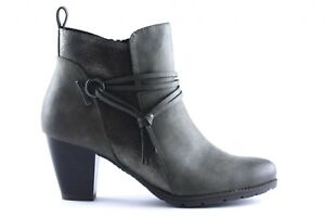 Khaki Boots Tozzi Marco 25313 Women's Ankle 21 aUIURwHq