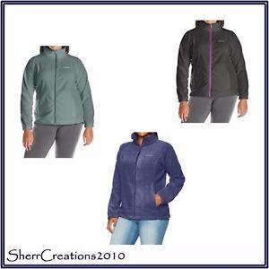 b3caaa1e0fa NWT Columbia WOMEN S Plus Size BENTON SPRINGS FULL ZIP Fleece Jacket ...