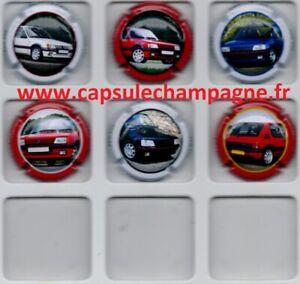 Capsules de champagne Générique Série Peugeot  205 GTI News