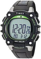 "Timex TW5M03400, Men's ""Ironman"" 100-Lap Watch, 5 Alarms, Indiglo, TW5M034009J"