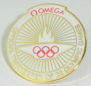 OMEGA PIN - Anstecker - Official Timekeeper of 22 Olympic Games Rarität
