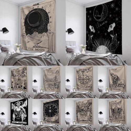Gothic Wandteppich Tapisserie Wandbehang Wandkunst Wandtuch Deko Yoga Strandtuch