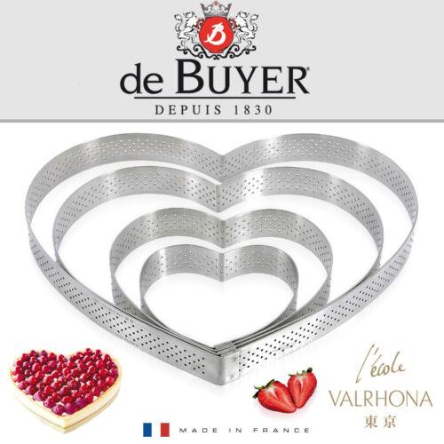 De Buyer-HEART SHAPE-HEIGHT 2 CM-Valrhona
