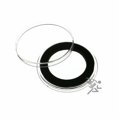 Air-Tite Holders 28mm Black Ring 1//2oz Gold Philharmonic Coin Capsules 10 Pack