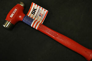 Sk 9336 36 Oz Hot Cast Dead Blow Ball Peen Hammer 1 25 Face Dia 13 00 Made Usa Ebay It also helps control striking force with minimal rebound from the striking surface. ebay