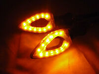 Motorcycle Euro Led Turn Signal For Honda Cbr 600rr 1000rr F4i 929 954 Xr600 Crf on sale