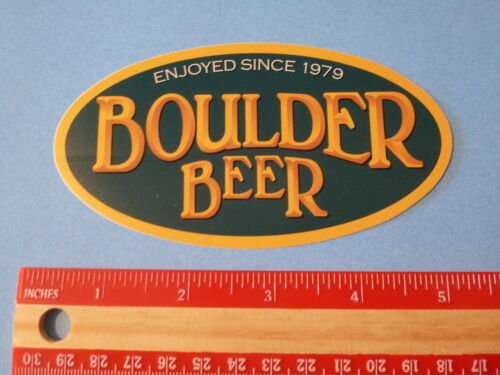 BOULDER BEER Brewing Company ~*~ STICKER ~*~ Enjoyed since 1979 from COLORADO