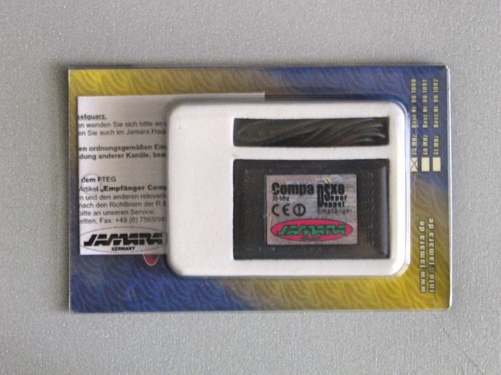 JAMARA Empfänger Compa DSX8 35Mhz