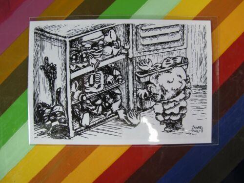 new vinyl toy sticker Horror vending prismatic Grody Shogun Retroband Meats