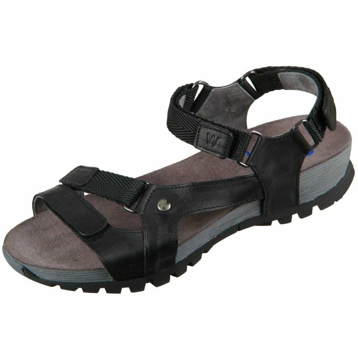Wolky Damen Sandaletten Cradle 0545030-000 schwarz multi Cradle Softy Wax