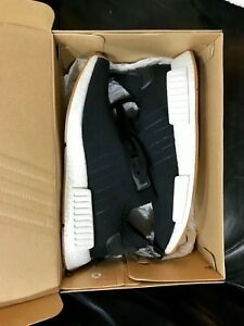 726f4aae5186a NEW Adidas NMD R1 PK Primeknit Black Gum Pack Size 9 BY1887 ...