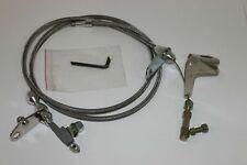 New 727 Stainless Braided Kickdown Cable Detent Mopar Transmission For Chrysler