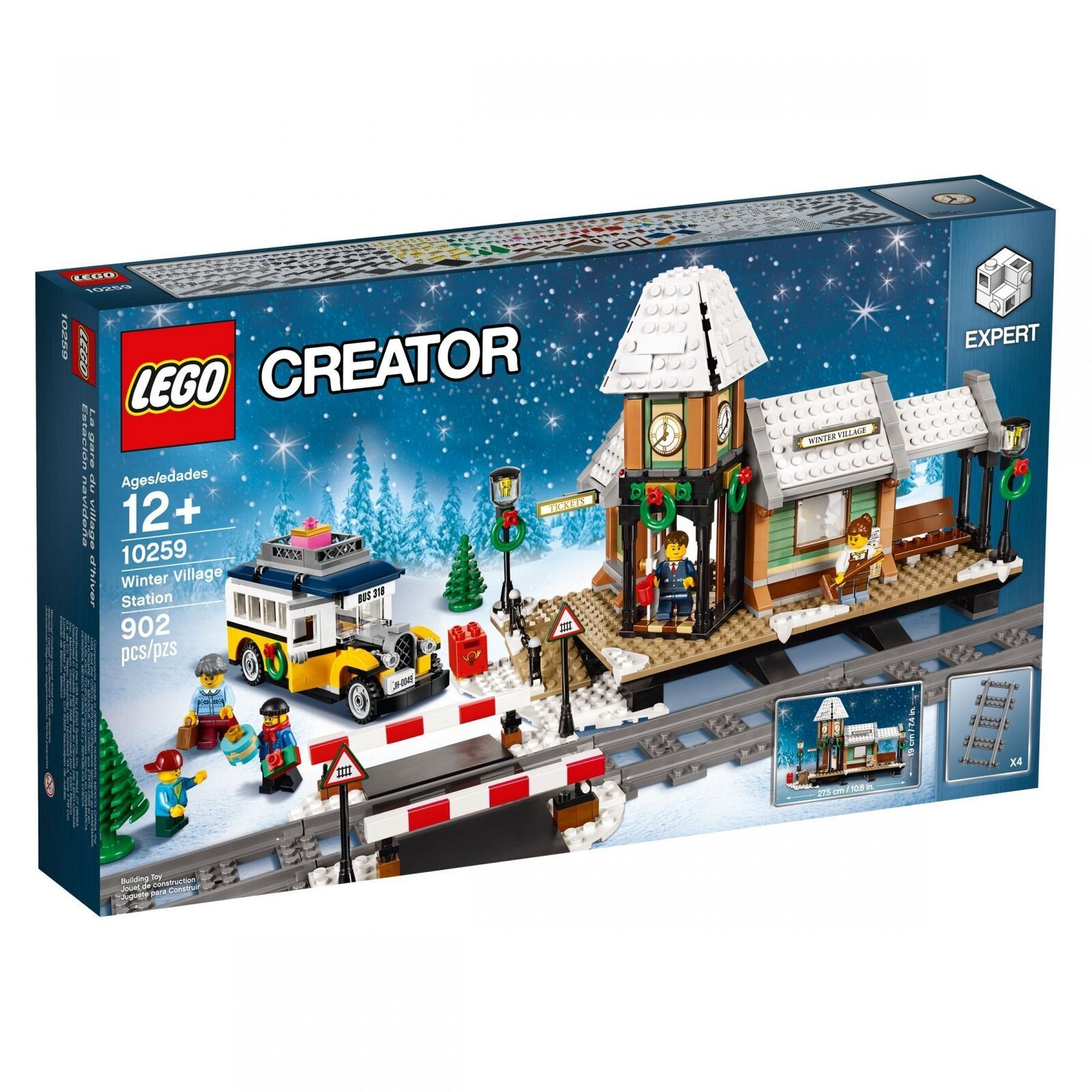 LEGO® Creator Creator Creator Expert 10259 Winterlicher Bahnhof NEU NEW OVP MISB df3d79