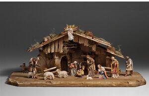 Nativity-set-15-pcs-with-hut-statue-wood-carving-for-Nativity-set-mod-912