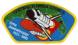 Central-Florida-Council-80th-Anniversary-Space-CSP-Uniform-NASA-Patch-Badge-BSA