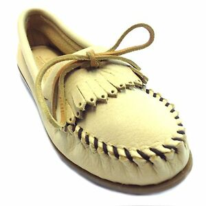 408v Minnetonka Women's Cordova Kilty Suede Moccasins Moc Toe Women's Comfort Shoes