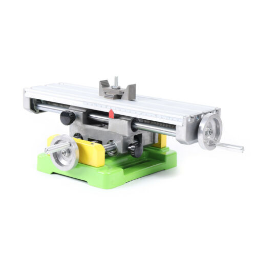 Compound Mini Milling Machine XY-axis Work Table Cross Slide Bench Drill Vise