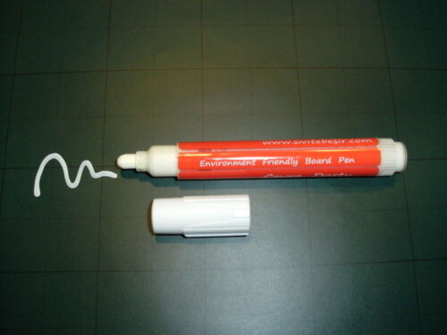 Kreidemarker WEISS,Tafel Board Window Marker Kreide Stift Flüssigkreide weiß