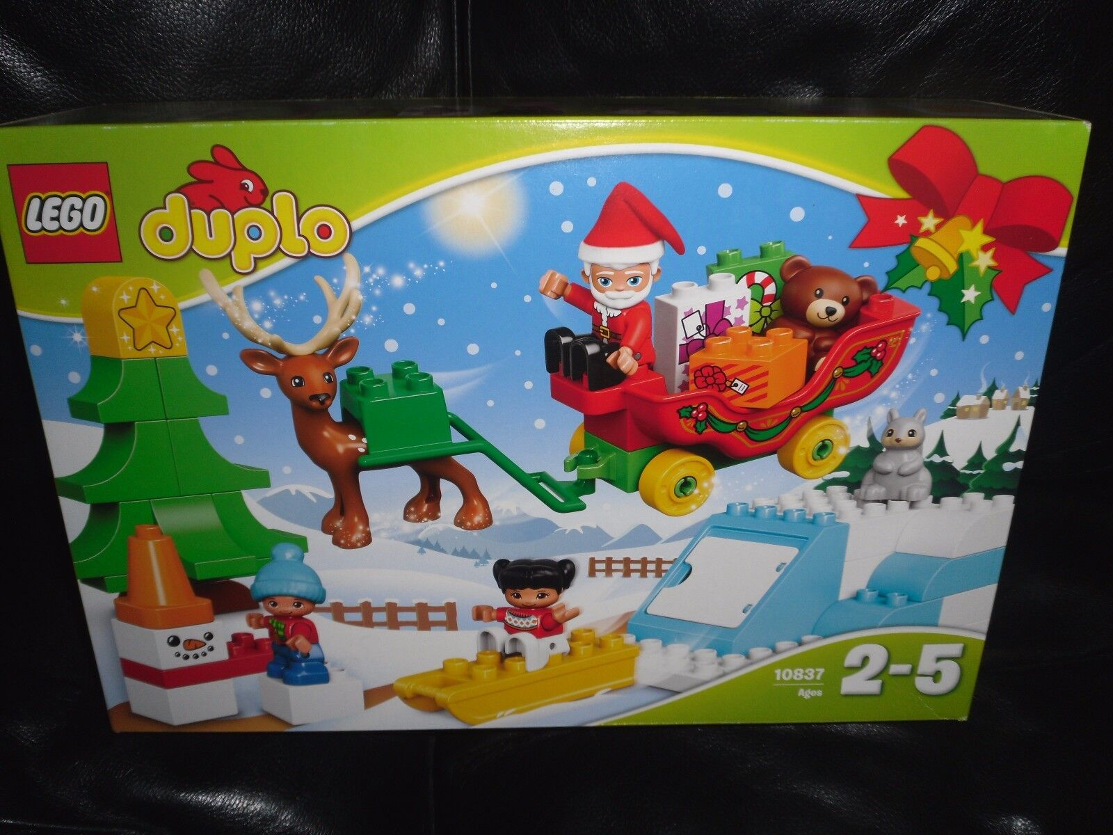 Lego Duplo 10837 SANTA'S WINTER HOLIDAY, ages 2-5yrs BRAND NEW & STILL SEALED
