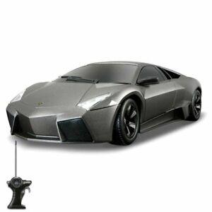 Maisto-Tech-R-C-M81055-Lamborghini-Reventon-Kids-5-Grey-Remote-Control-Toy-Car
