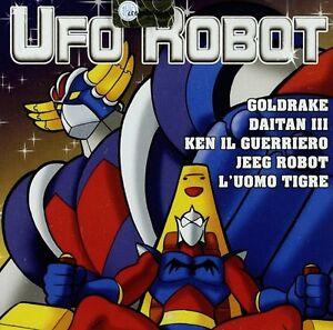 CD OVNI ROBOTBonus MP3 dibujos animados 50 aos 8090 Goldrake