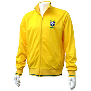 Official-Brasil-FC-Mens-Track-Jacket-in-Yellow-S-M-L-XL-XXL