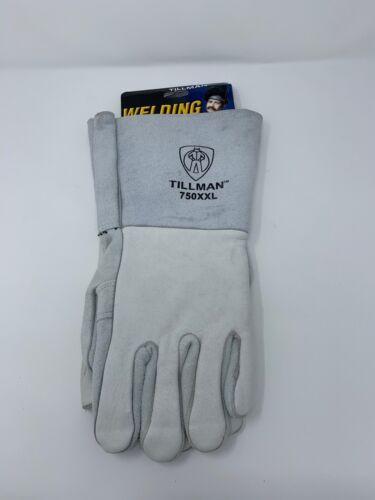 Top Grain Elkskin Palm 2XL Pear Tillman 750-XXL Premium Grade Welding Gloves