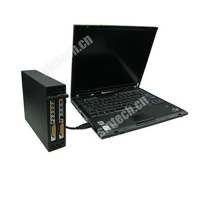 Sintech laptop expresscard to dual PCI riser card 4 serial parallel sound card