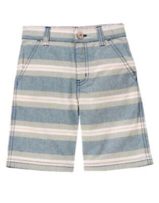GYMBOREE GONE SURFIN/' OLIVE GREEN WOVEN SHORTS 3 4 5 6 7 8 10 12 NWT