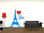 miniature 3 - Adesivo Parigi torre eiffel città stickers murale decalcomania vari colori 02