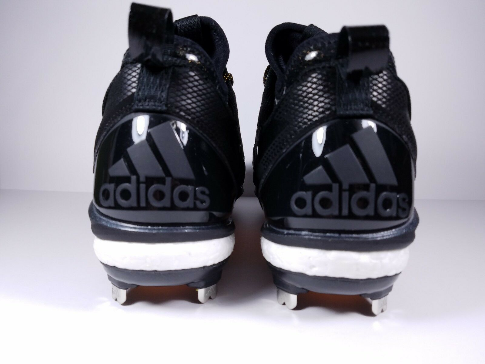Adidas Size 13 13 13 Cleats Energy Boost Icon 2.0 Metal Baseball Q16523 Black gold 0b6d12