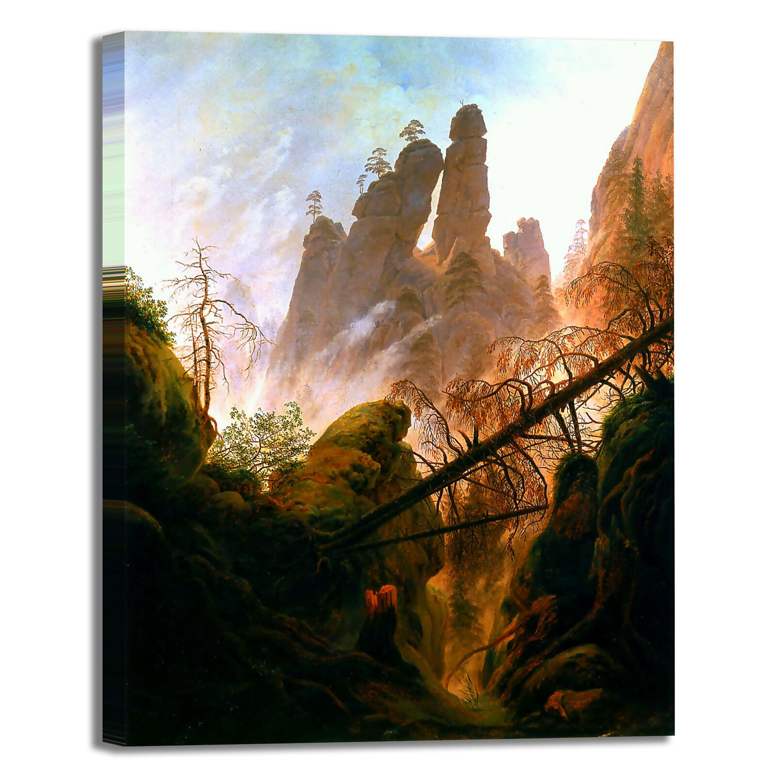 Caspar design gola rocciosa design Caspar quadro stampa tela dipinto telaio arRouge o casa 1ce701