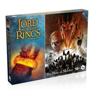 Herr der Ringe -  Puzzle »The Host of Mordor« 1000 Teile Puzzel HDR Sauron Ork