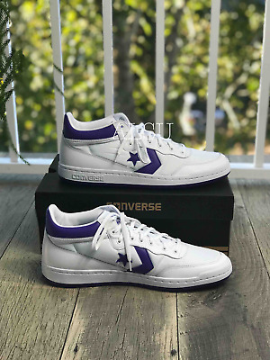 Sneakers Men's Converse Fastbreak 83 MID White Candy Grape Leather Canvas | eBay