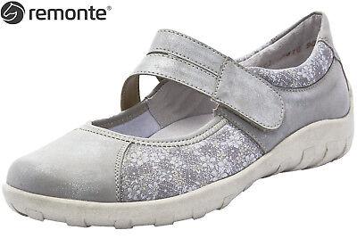 Remonte Ballerinas in Übergrößen Silber R3510 40 große Damenschuhe