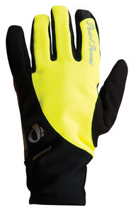 Pearl-Izumi-Women-039-s-Select-Softshell-Winter-Cycling-Gloves-Yellow-Large