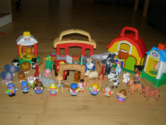 Fisher-Price klassikere, Fisher Price,  Little people,  36…