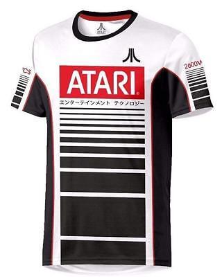 Atari Football Long Sleeve Poly Crewneck