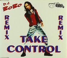 Maxi CD - D.J. BoBo - Take Control (Remix) - #A2658