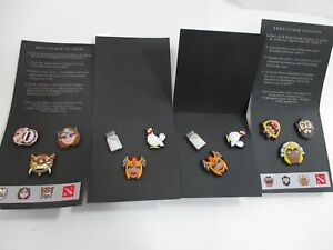 Details about 2015 DOTA 2 T15 Emoticharm Pin Packs W/ Steam Codes
