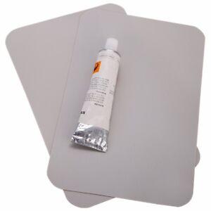 2x pvc klebstoff flicken glue schlauchbootkleber reparatur set gewebeverst rkt ebay. Black Bedroom Furniture Sets. Home Design Ideas