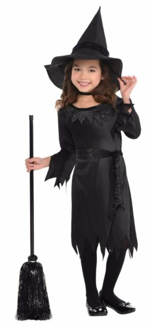 Lil Witch Black Costume Girls Toddler 3 4 Costumes Usa For Sale Online Ebay