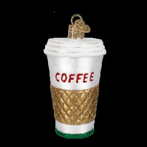 Old-World-Christmas-COFFEE-TO-GO-32171-N-Glass-Ornament-w-OWC-Box