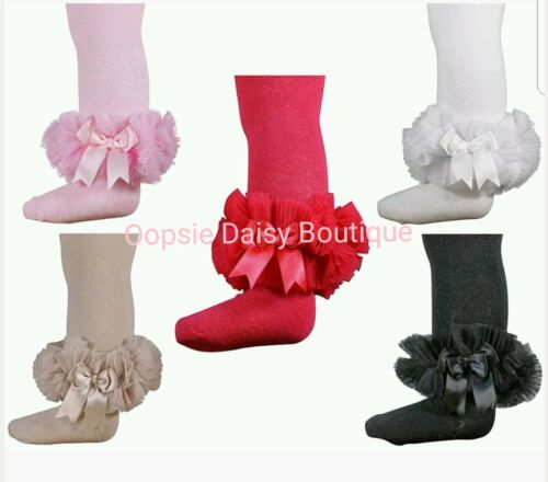 Baby Girls Frilly TuTu Tights Spanish Romany Style ☆