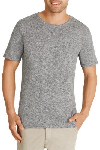 Bonds Mens Textured Crew Neck Tee T Shirt sizes Small Medium Colour Black Marle