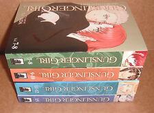 Gunslinger Girl Vol. 7-8,9-10,11-12,15 Manga Graphic Novels Set English